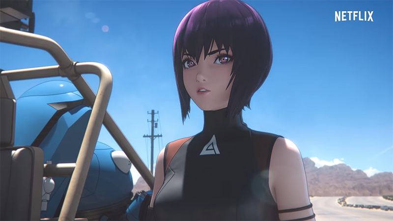 Netflix's Ghost in the Shell SAC_2045 Receives Release Timeframe