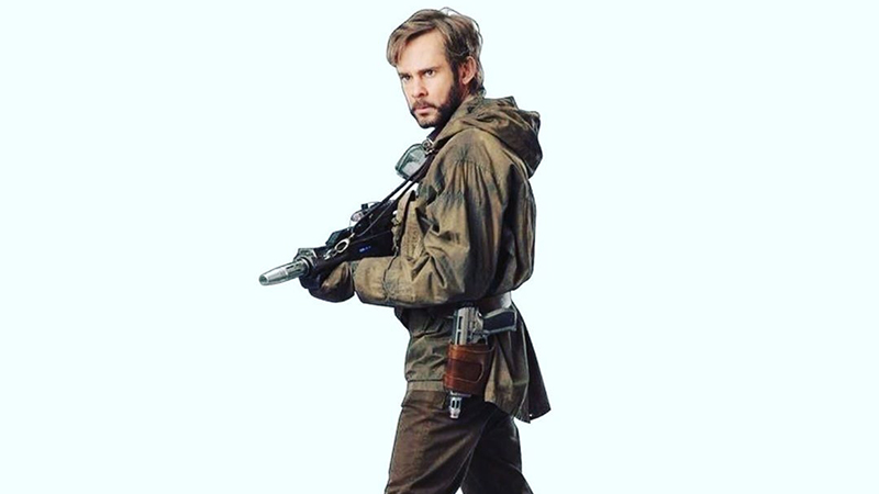 Dominic Monaghan Shares First Look at Star Wars: The Rise of Skywalker Character