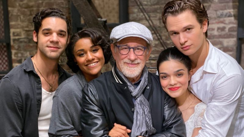 Production Wraps on Spielberg's West Side Story