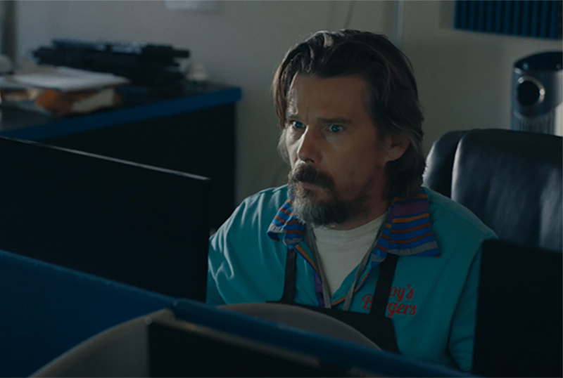 Exclusive: Ethan Hawke is New to Technology in Adopt a Highway Clip
