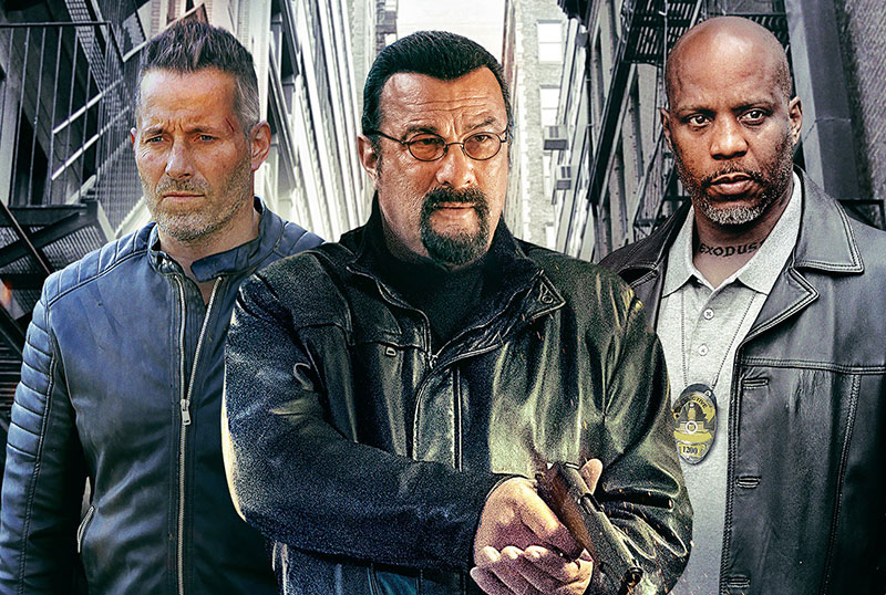 Exclusive Beyond the Law Clip: Steven Seagal Has a Father-Son Chat