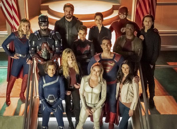 The Arrowverse Heroes Assemble in Crisis on Infinite Earths Photos