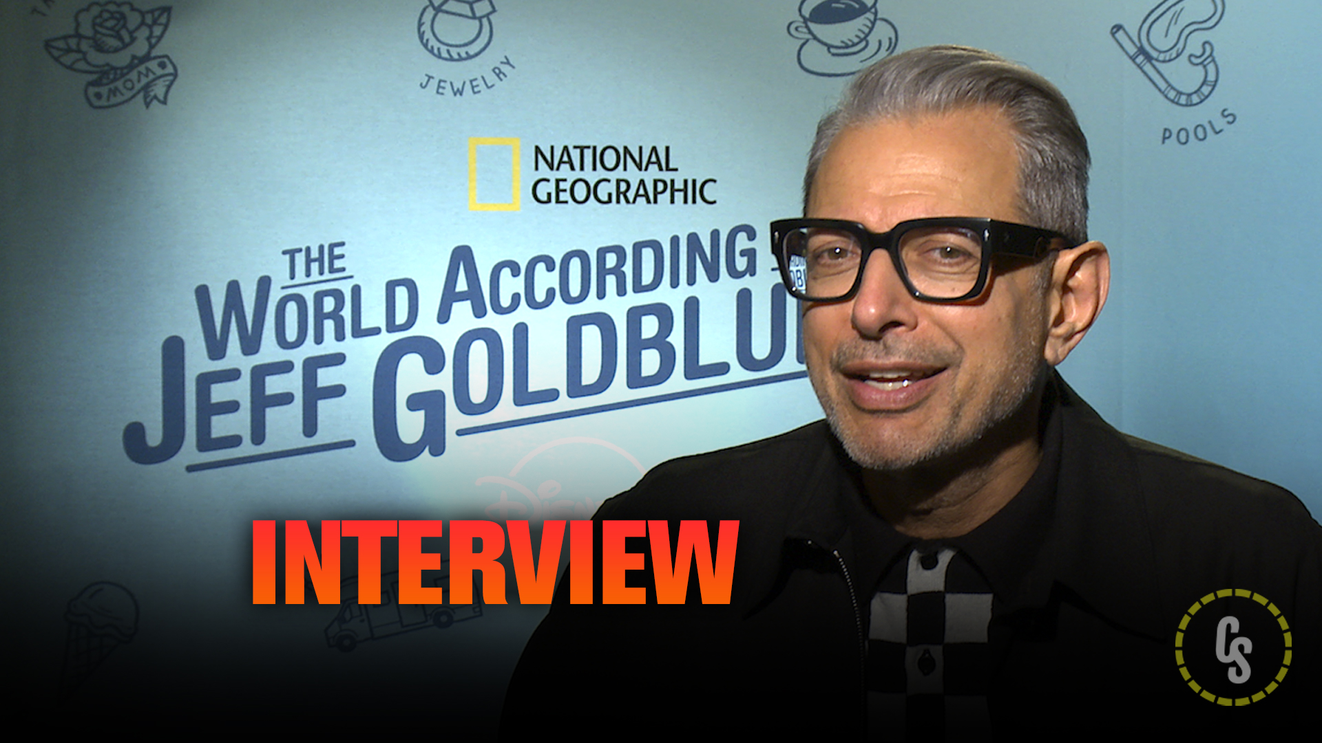 CS Video: Goldblum on The World According to Jeff Goldblum Docuseries