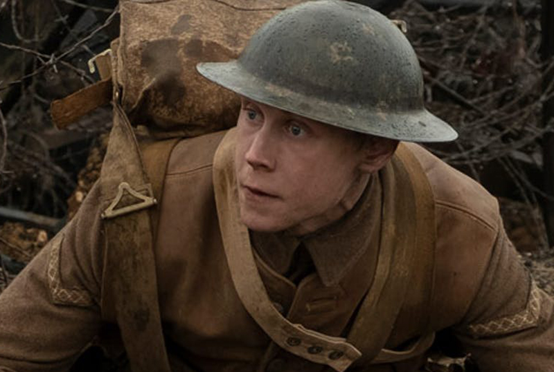 George MacKay Runs Through the Ruins in New 1917 Clip