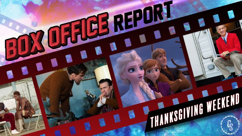 Frozen II Dominates Thanksgiving Box Office, Knives Out Opens Strong
