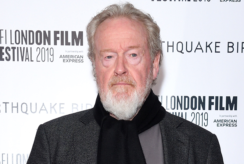 CURS_R: Ridley Scott Developing Gaming Thriller Series for Quibi