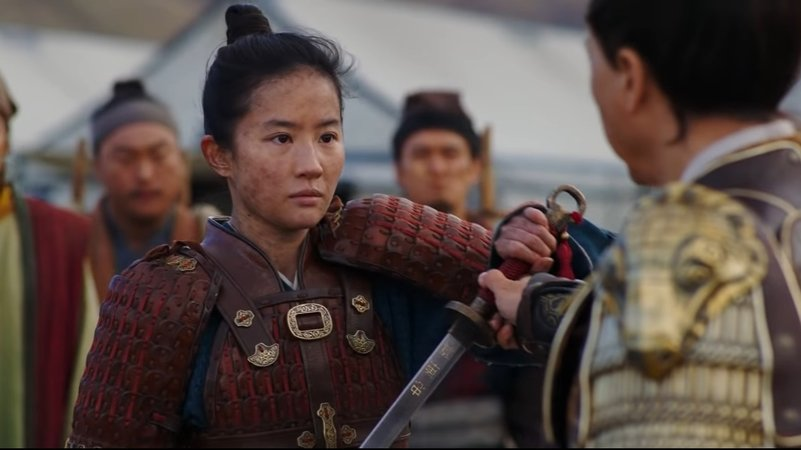 New Mulan TV Spot Highlights Titular Hero's Training