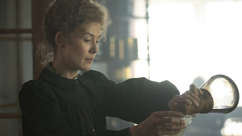 Rosamund Pike is Marie Curie in Studiocanal's Radioactive Trailer