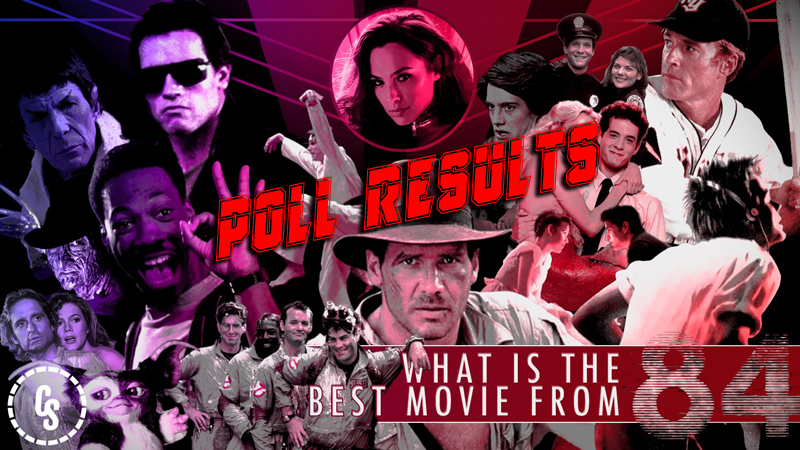 POLL RESULTS: What is the Best Movie From 1984?