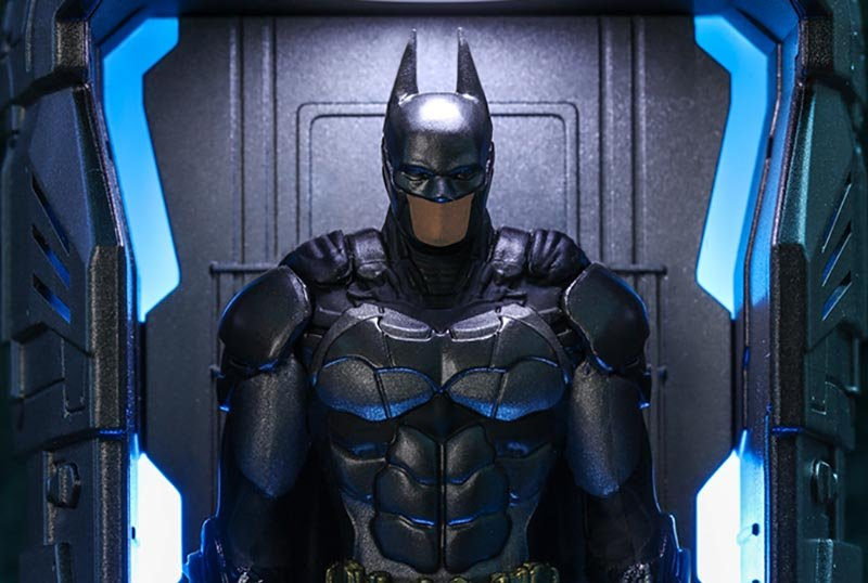 Hot Toys Unveils Batman: Arkham Knight Armory Figures!