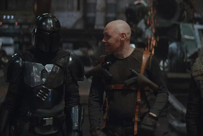 Bill Burr Reprising Mayfield Character in The Mandalorian Season 2