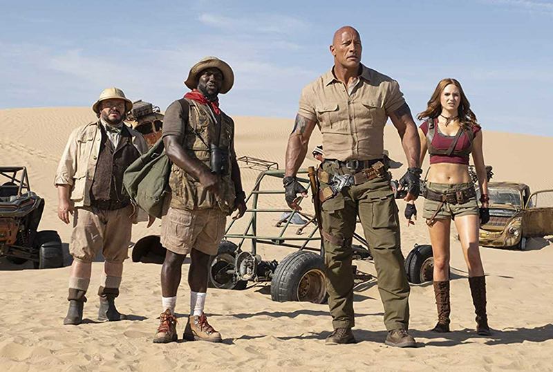 Exclusive Jumanji: The Next Level Clip Dives Into the Making of the Sequel