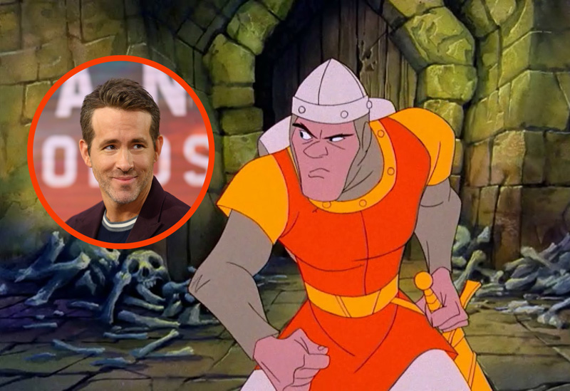 Ryan Reynolds Circles Live-Action Dragon's Lair Movie For Netflix