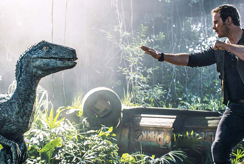 Colin Trevorrow Shares BTS Photo From Jurassic World: Dominion