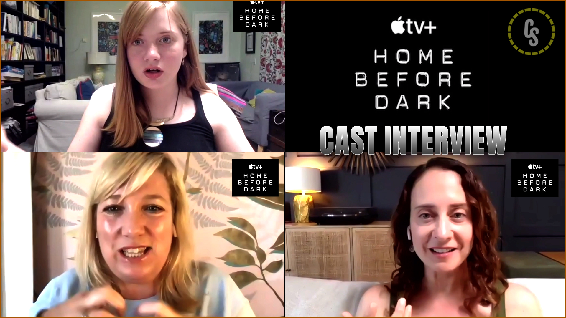 CS Video: Home Before Dark Interviews With Hilde Lysiak & More!