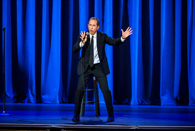 Netflix's Jerry Seinfeld: 23 Hours to Kill Teaser & Key Art Debuts