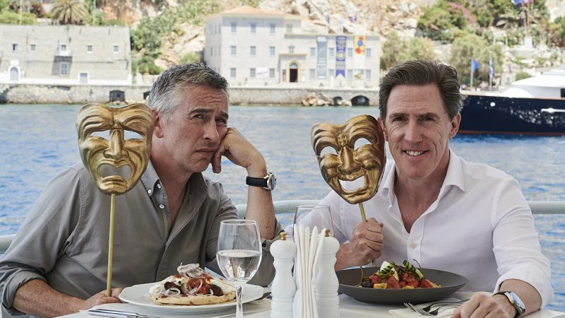 The Trip to Greece Trailer Starring Steve Coogan and Rob Brydon