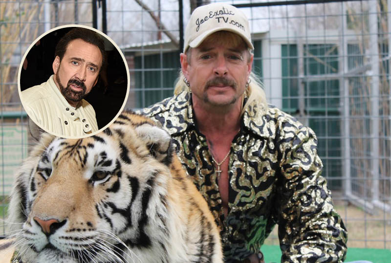 Yep, Nicolas Cage Is Playing Joe Exotic in a New TV Show