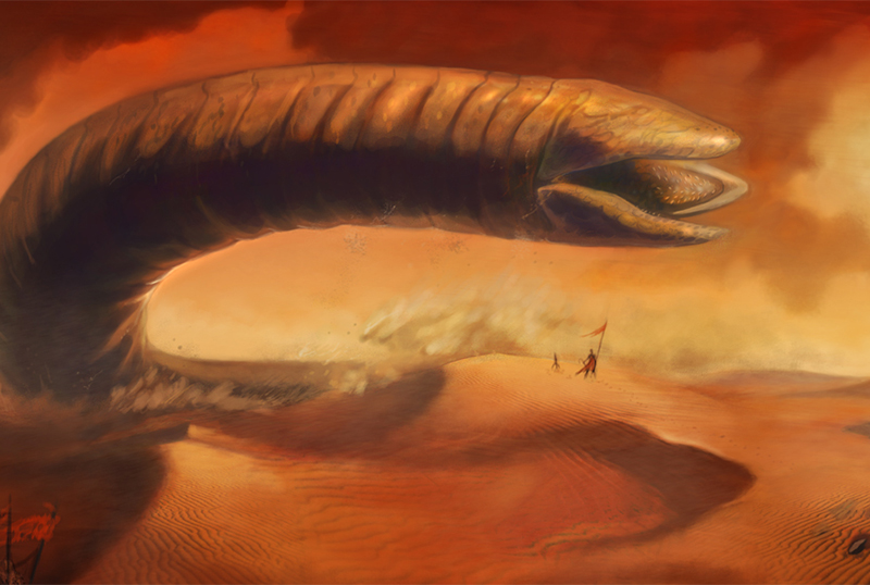 Denis Villeneuve Offers Details On Dune Sandworms