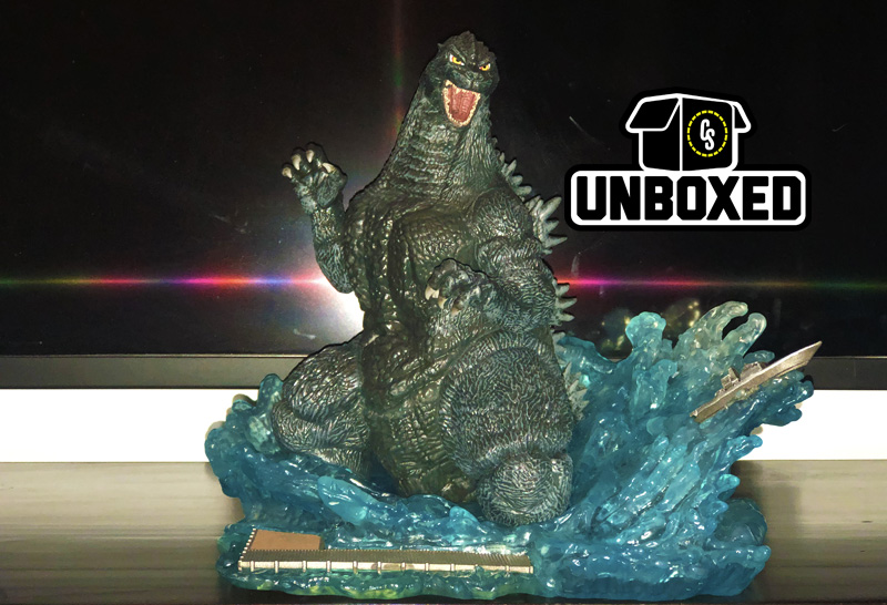 CS Unboxed: Diamond Select Godzilla 1991 PVC Statue