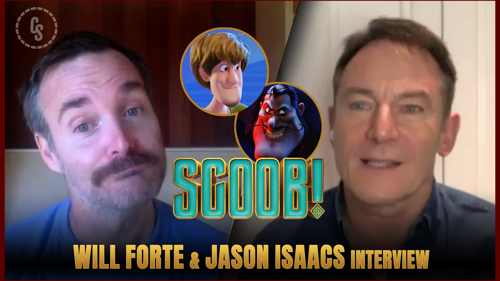 CS Video: Scoob! Interviews With Will Forte & Jason Isaacs