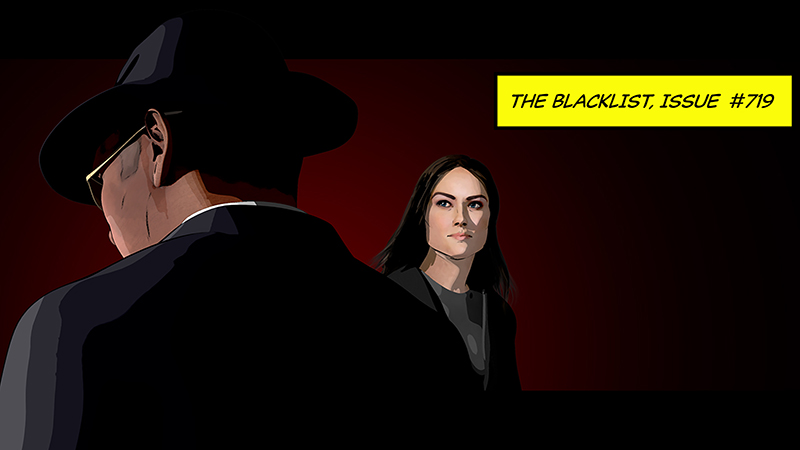 Blacklist Ending Season 7 With Hybrid Live-Action/Graphic Novel-Style Animation