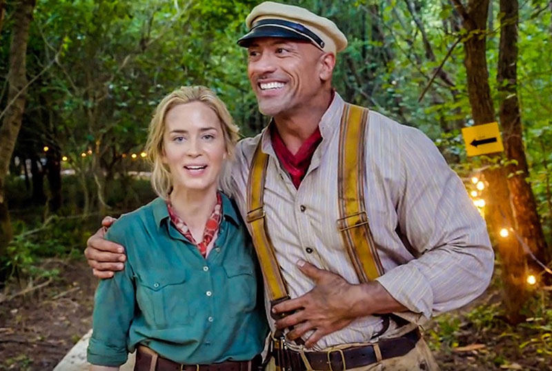 Dwayne Johnson & Emily Blunt Reuniting For Ball and Chain