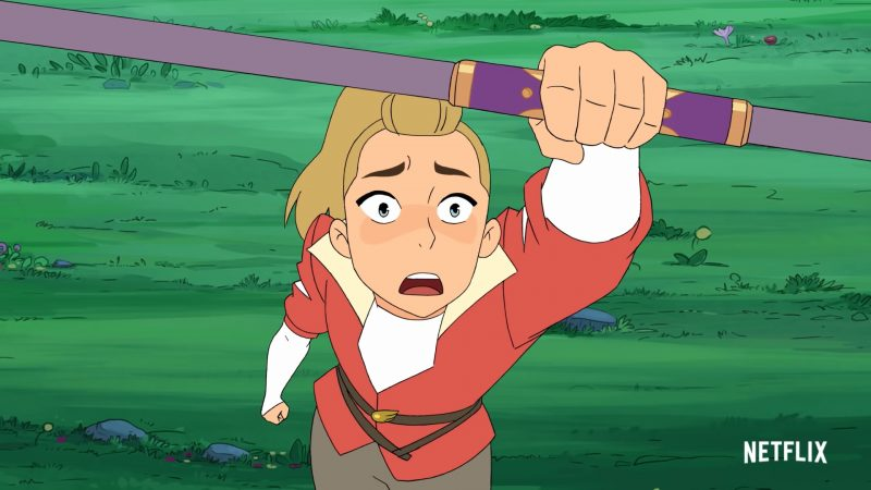 She-Ra and the Princesses of Power Season 5 Clip: Adora Struggles Without Her Powers