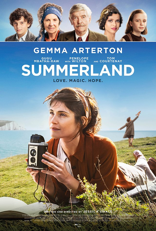 IFC Films' Summerland Trailer & Poster From Filmmaker Jessica Swale