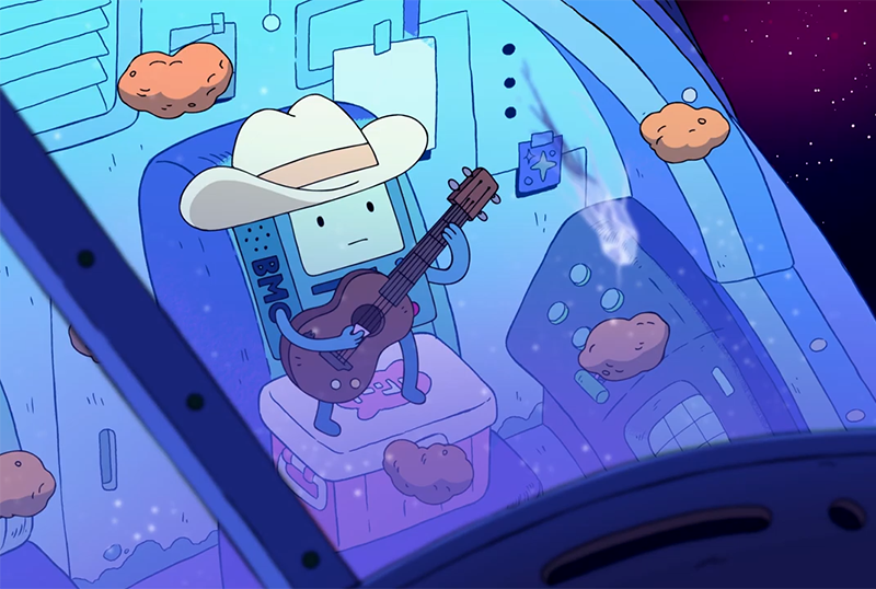 Adventure Time: Distant Lands Clip Sees BMO in Space
