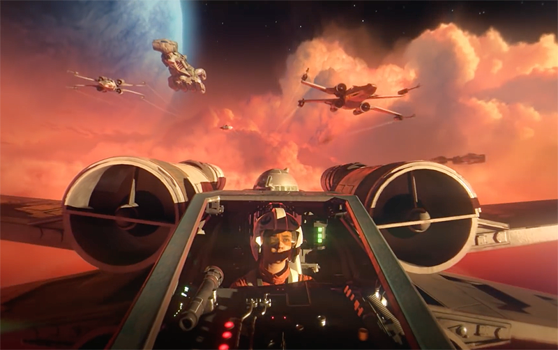 Buckle Up For EA's Official Star Wars: Squadrons Trailer!