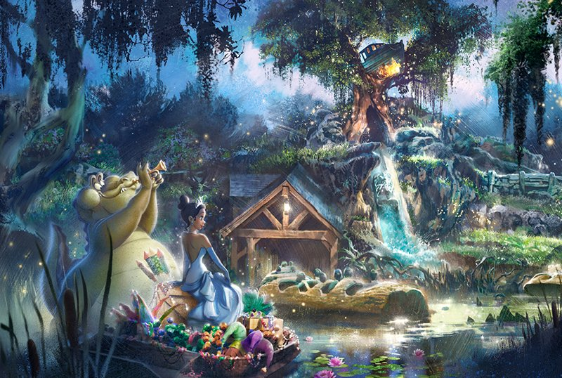 Splash Mountain Getting The Princess and the Frog Redesign