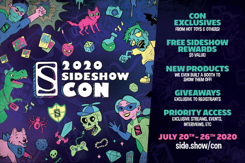 Sideshow Collectibles Announce Sideshow Con Experience!