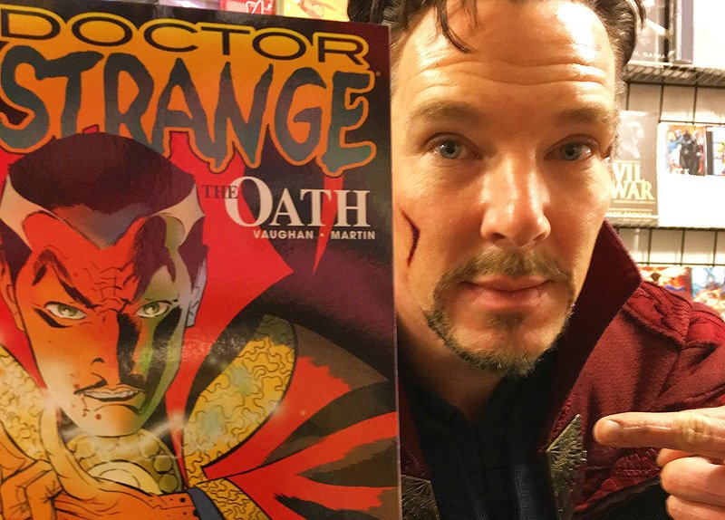 Doctor Strange Comic Shop Visit From 2016 Revealed!