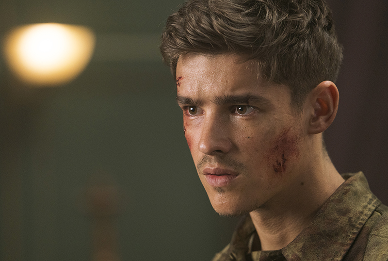 CS Interview: Brenton Thwaites on Multi-Genred Ghosts of War