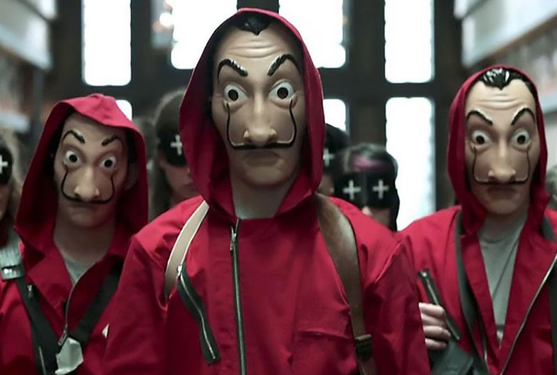 Netflix Original Money Heist season five to end saga