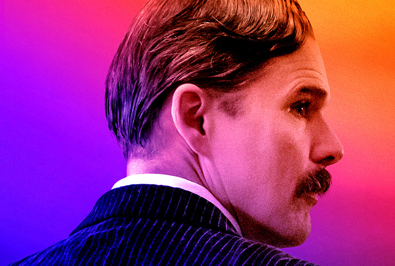 Exclusive Tesla Poster Featuring Ethan Hawke