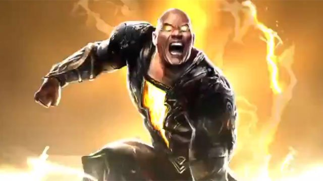 Dwayne Johnson Shares a First Look At Black Adam's Costume