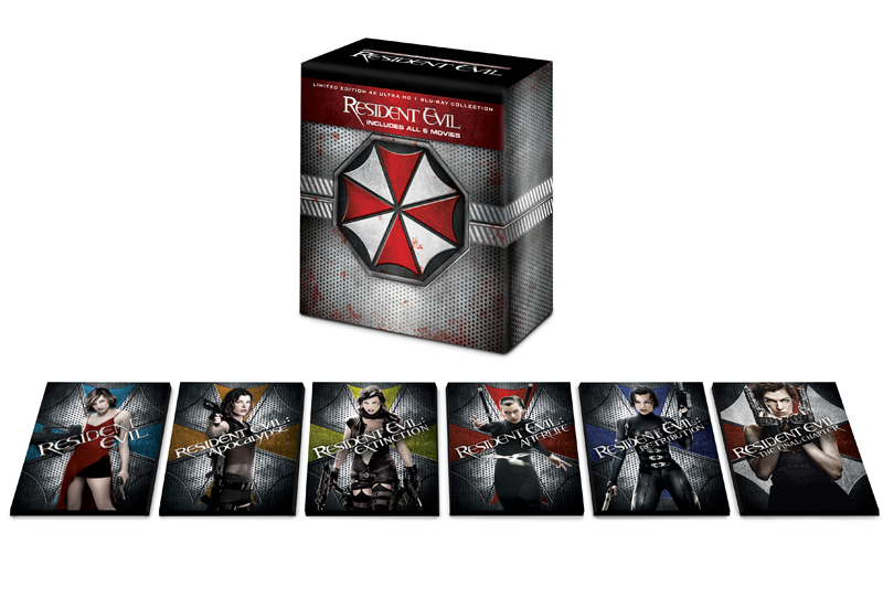Resident Evil 4K Collection Box Set Coming in November
