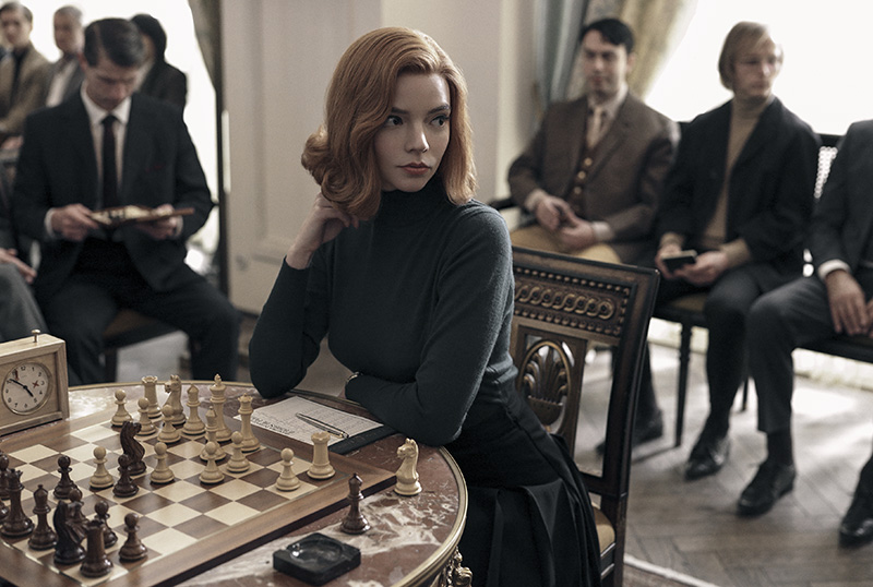 Netflix Unveils First-Look Photos, Teaser & Premiere Date for Queen's Gambit