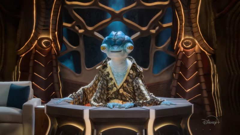 Earth to Ned Trailer Introduces Disney+'s Alien Talk Show Host