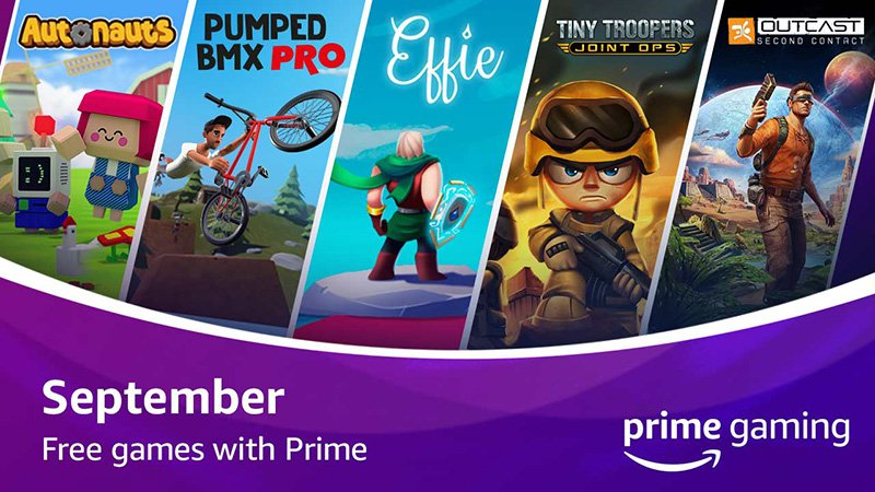Twitch September 2020 Prime Update Includes Five Free Games Plus New Loot