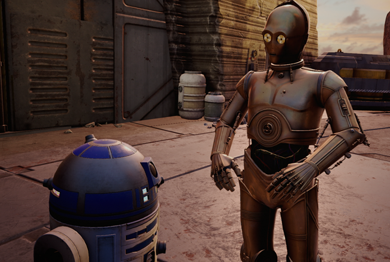 Anthony Daniels Joins Star Wars: Tales from the Galaxy's Edge