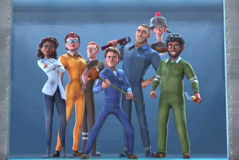 Henchmen Trailer Unveils Star-Studded Animated Adventure