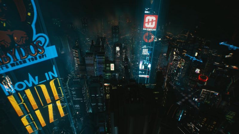 New Cyberpunk 2077 Footage Takes You on a Tour of Night City