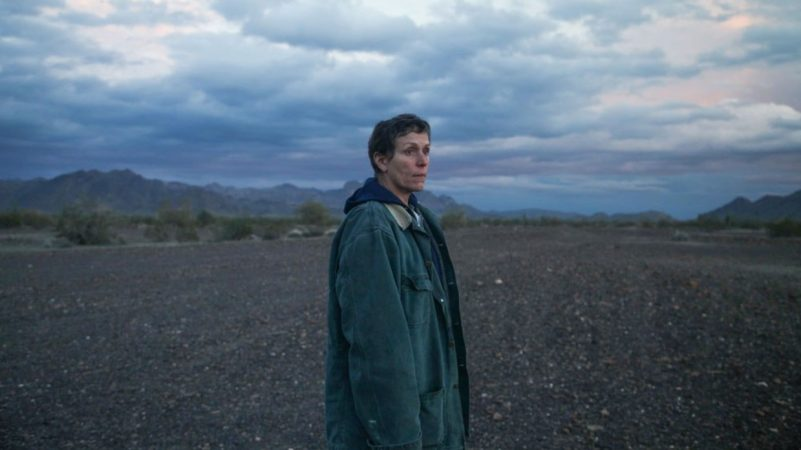 Frances McDormand walks it out in stark Nomadland teaser