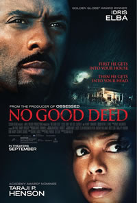 No Good Deed on DVD Blu-ray today