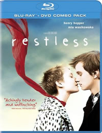 Restless on DVD Blu-ray today