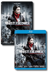 The Whistleblower on DVD Blu-ray today