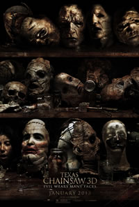 The Texas Chainsaw Massacre 3D Poster